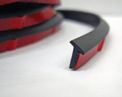 Уплотнительная резинка 5мм для обвесов Тайвань. Цвет Черный