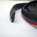 Уплотнительная резинка 8мм для обвесов Тайвань Цвет Черный