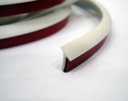 Уплотнительная резинка 5мм для обвесов Тайвань Цвет Белый